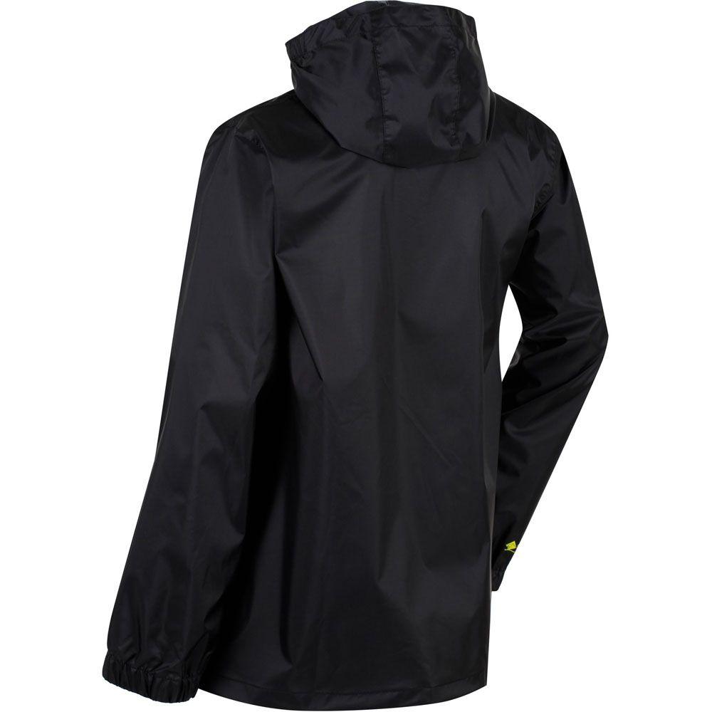 Regatta Boys & Girls Pack-It Packable Waterproof Breathable Jacket