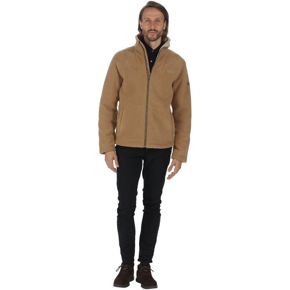 Regatta Mens Grove Full Zip Heavyweight Thick Fleece Jacket