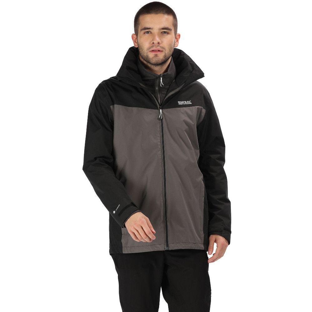 Regatta Mens Telmar III Waterproof Breathable 3in1 Jacket