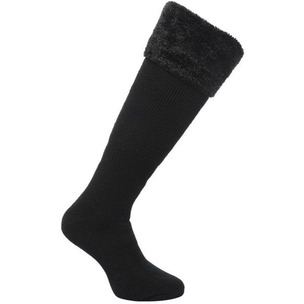 Regatta Womens/Ladies Fur Collar Warm and Comfortable Walking Socks
