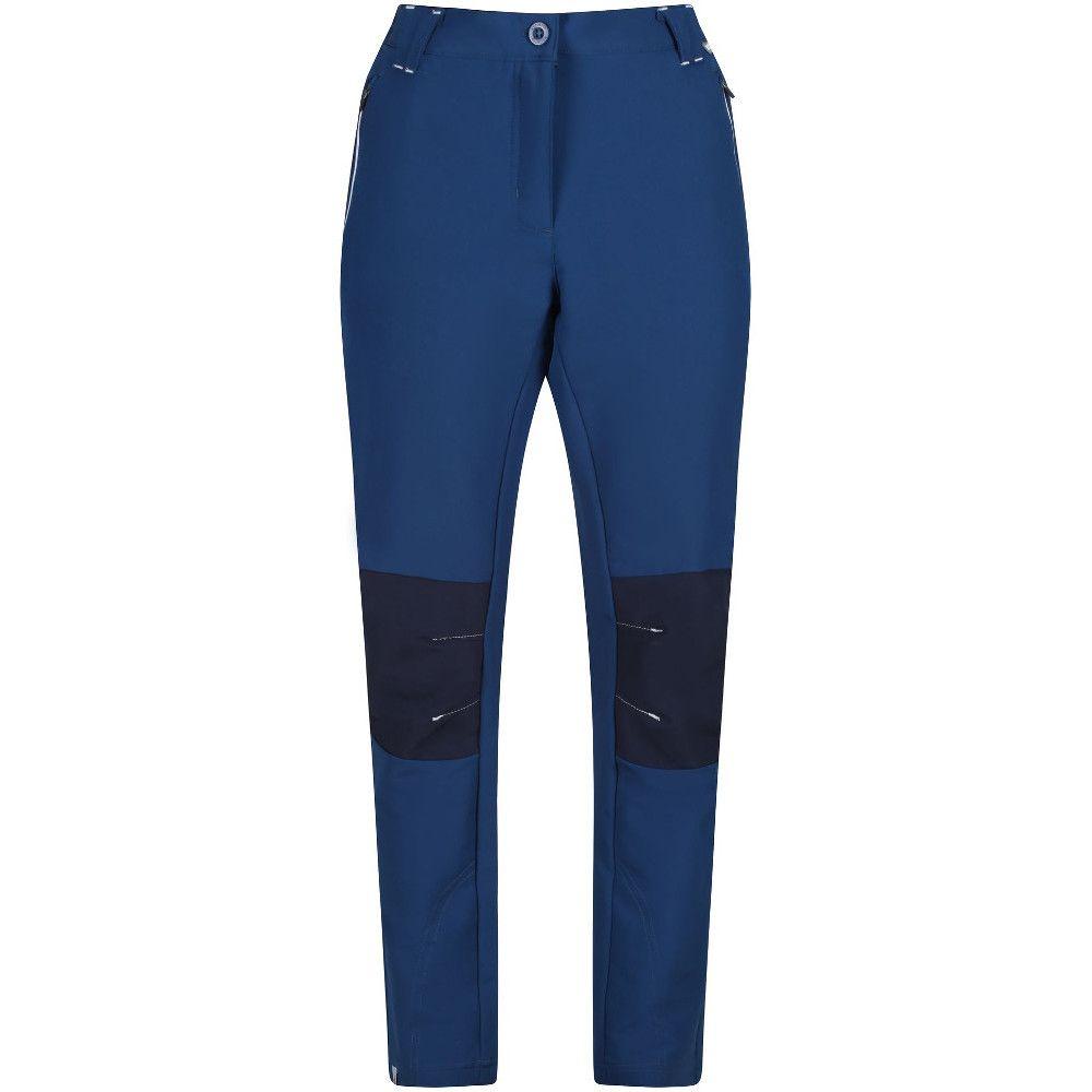 Regatta Womens Questra II Durable Softshell Walking Trousers