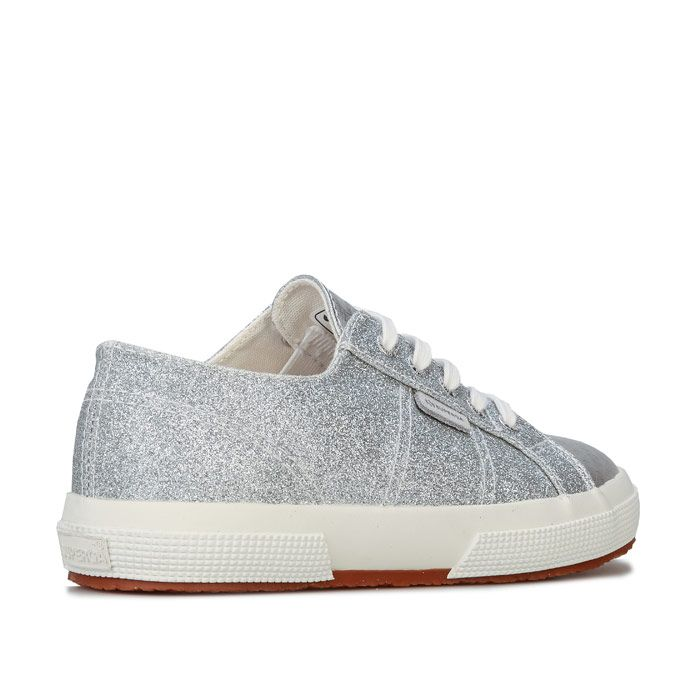 Girl's Superga Infant 2750 Cotu Classic Pumps in Silver