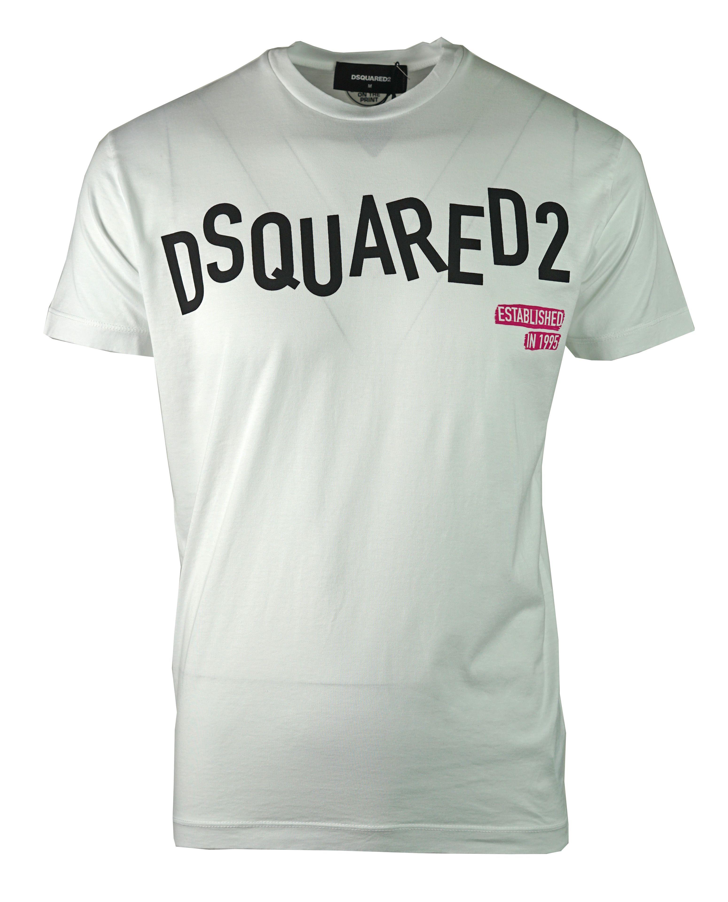DSquared2 S74GD0501 S22427 100 T-Shirt