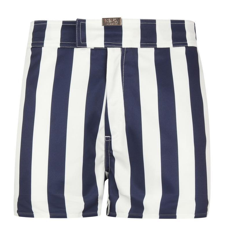 Tailored Santorini Blue Swim Shorts