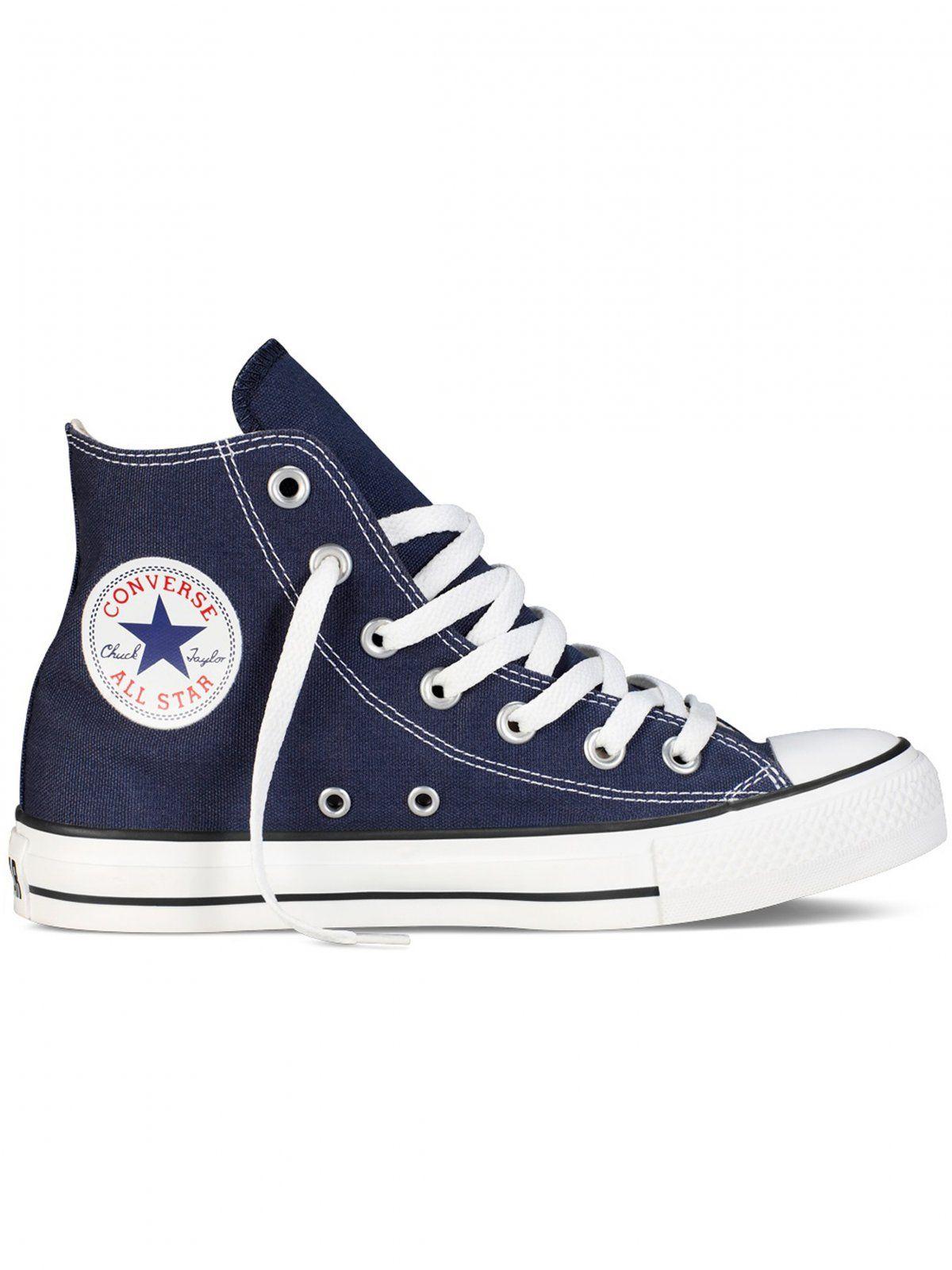 Converse All Star Unisex Chuck Taylor High Tops - Navy