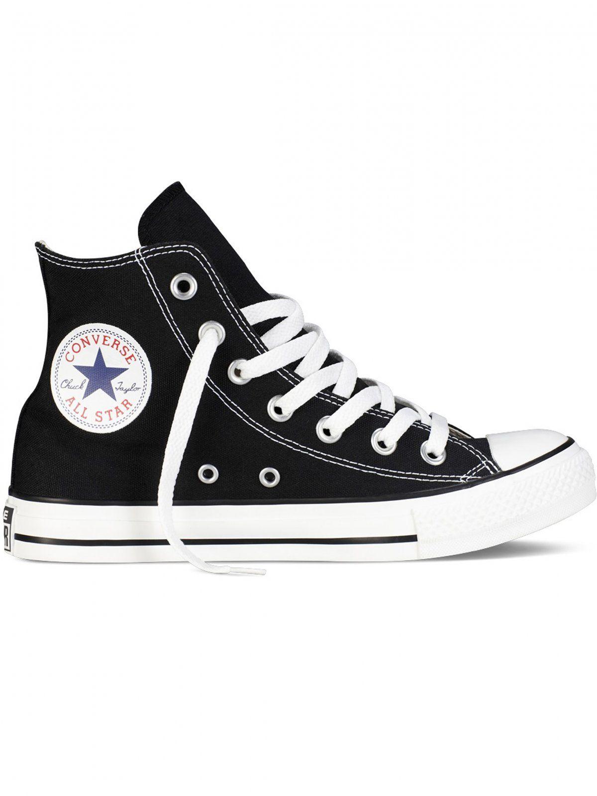 Converse All Star Unisex Chuck Taylor High Tops - Black/White