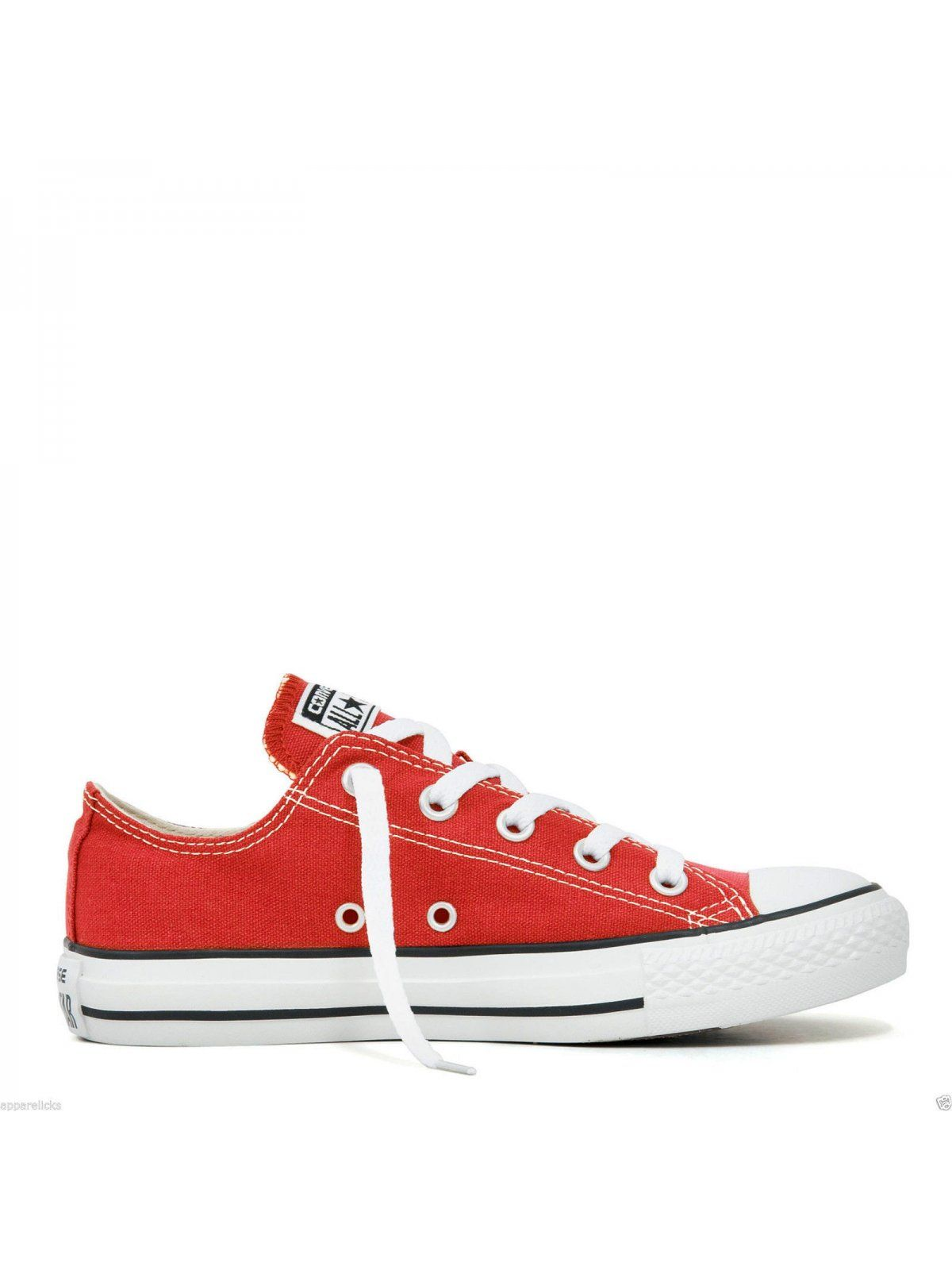 Converse All Star Unisex Chuck Taylor Low Top - Red