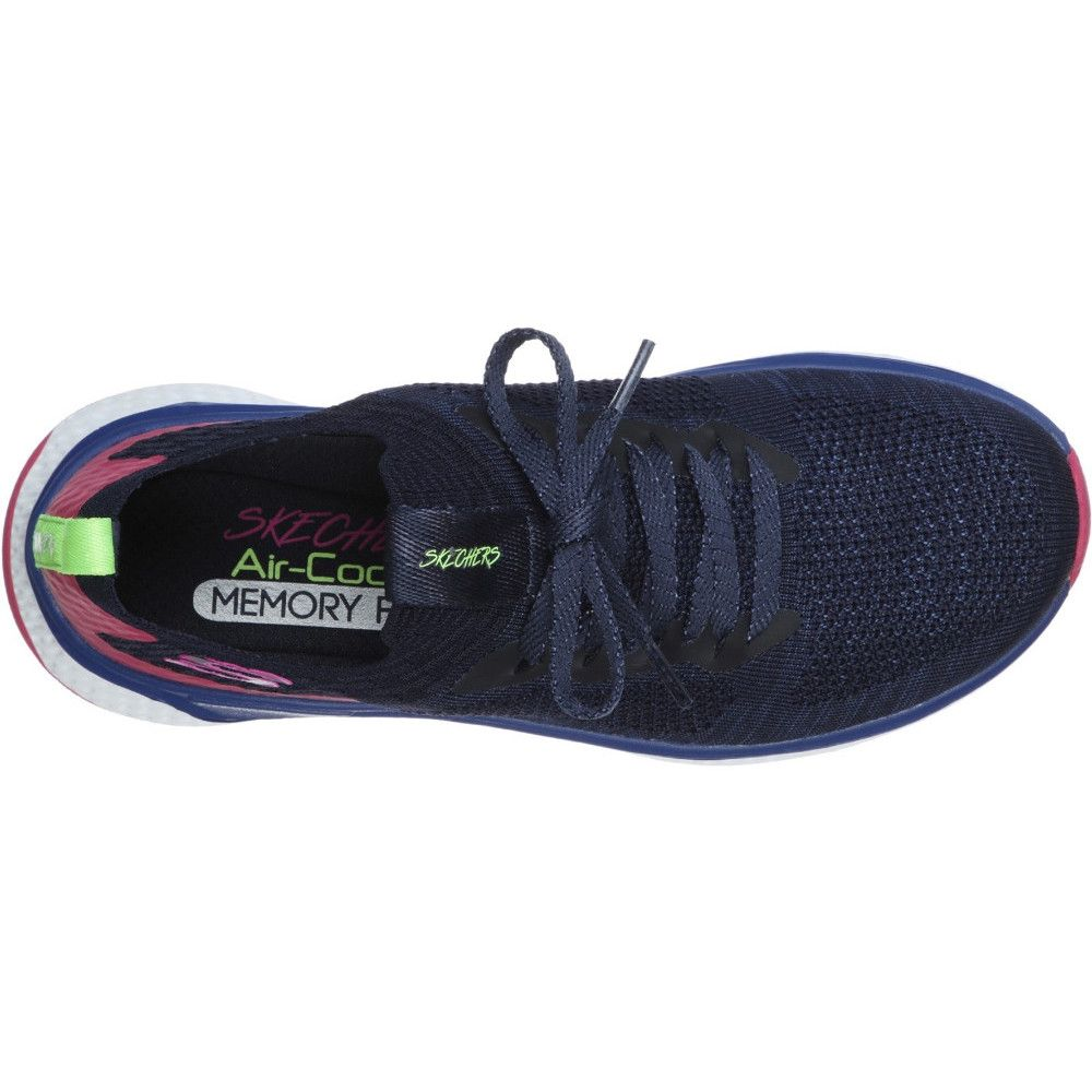 Skechers Womens Solar Fuse Slip On Laced Trainer Shoes