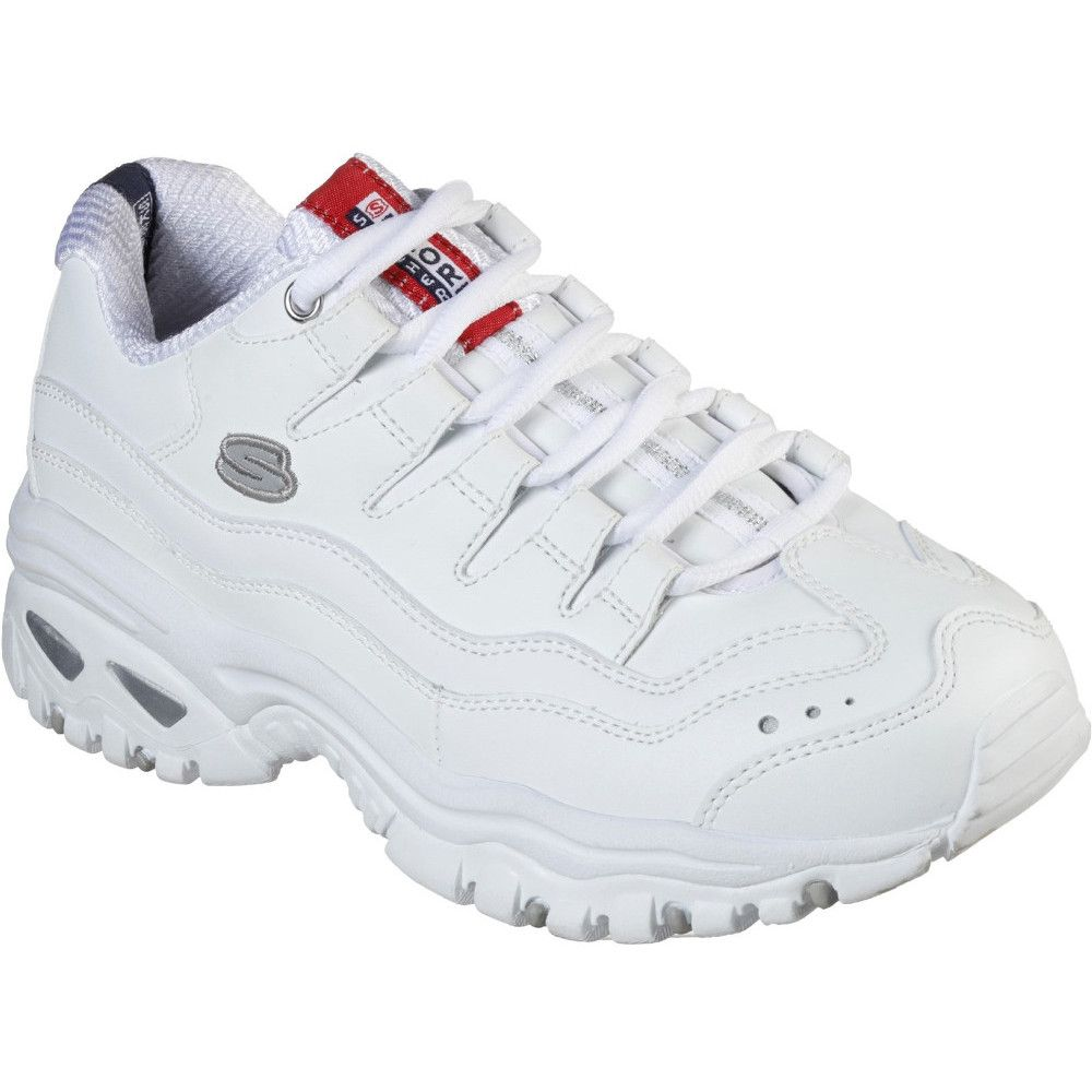 Skechers Womens Sport-Energy Jogger Lace Up Running Shoes