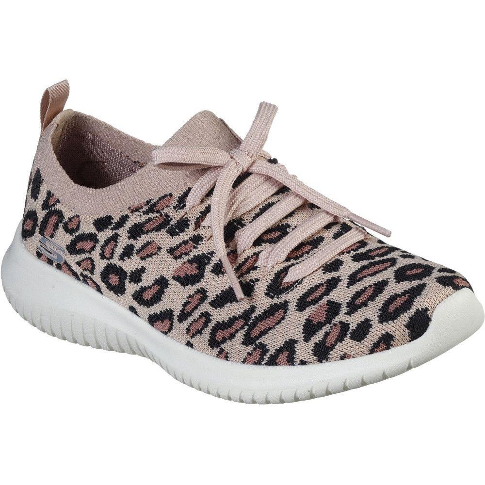 Skechers Womens Ultra Flex Safari Tour Slip On Shoes