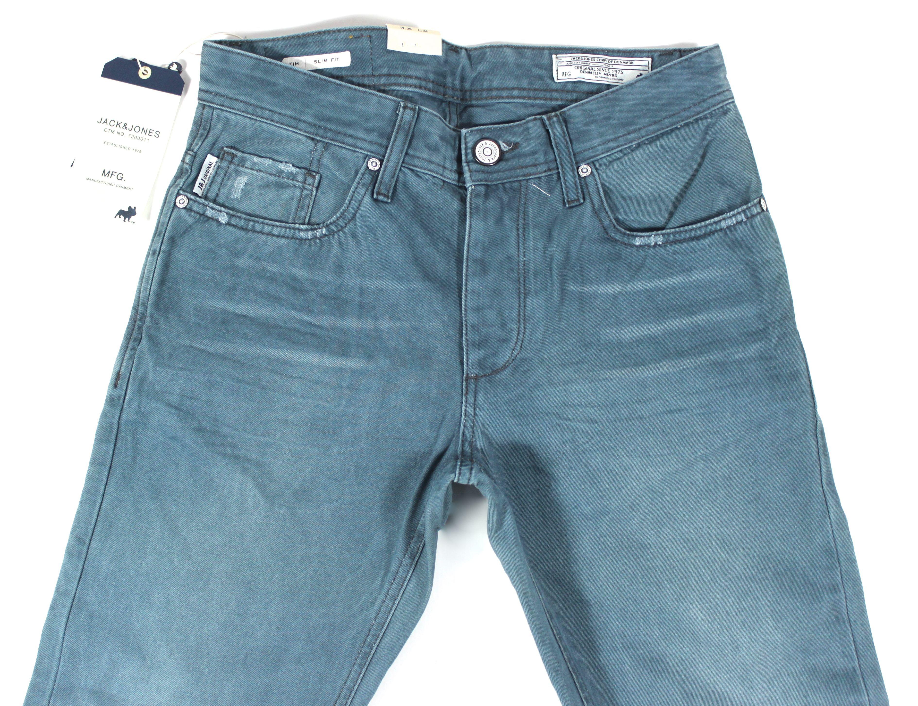 Jack and Jones Tim Original Blue JJ JI Jeans