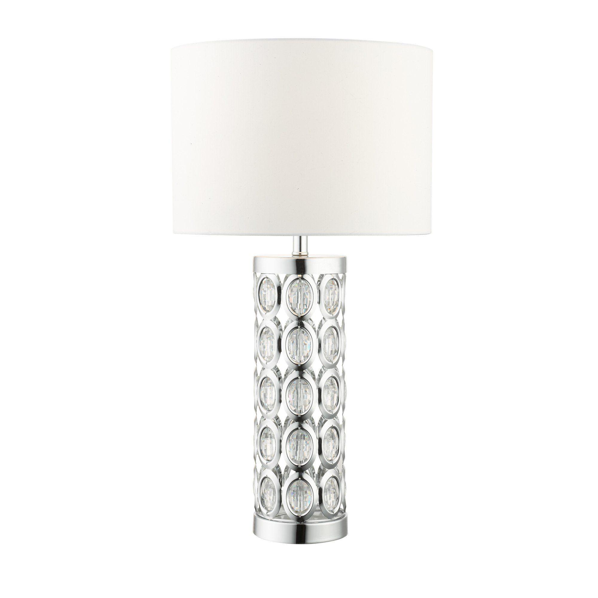 Morena 61cm Polished Chrome Table Lamp