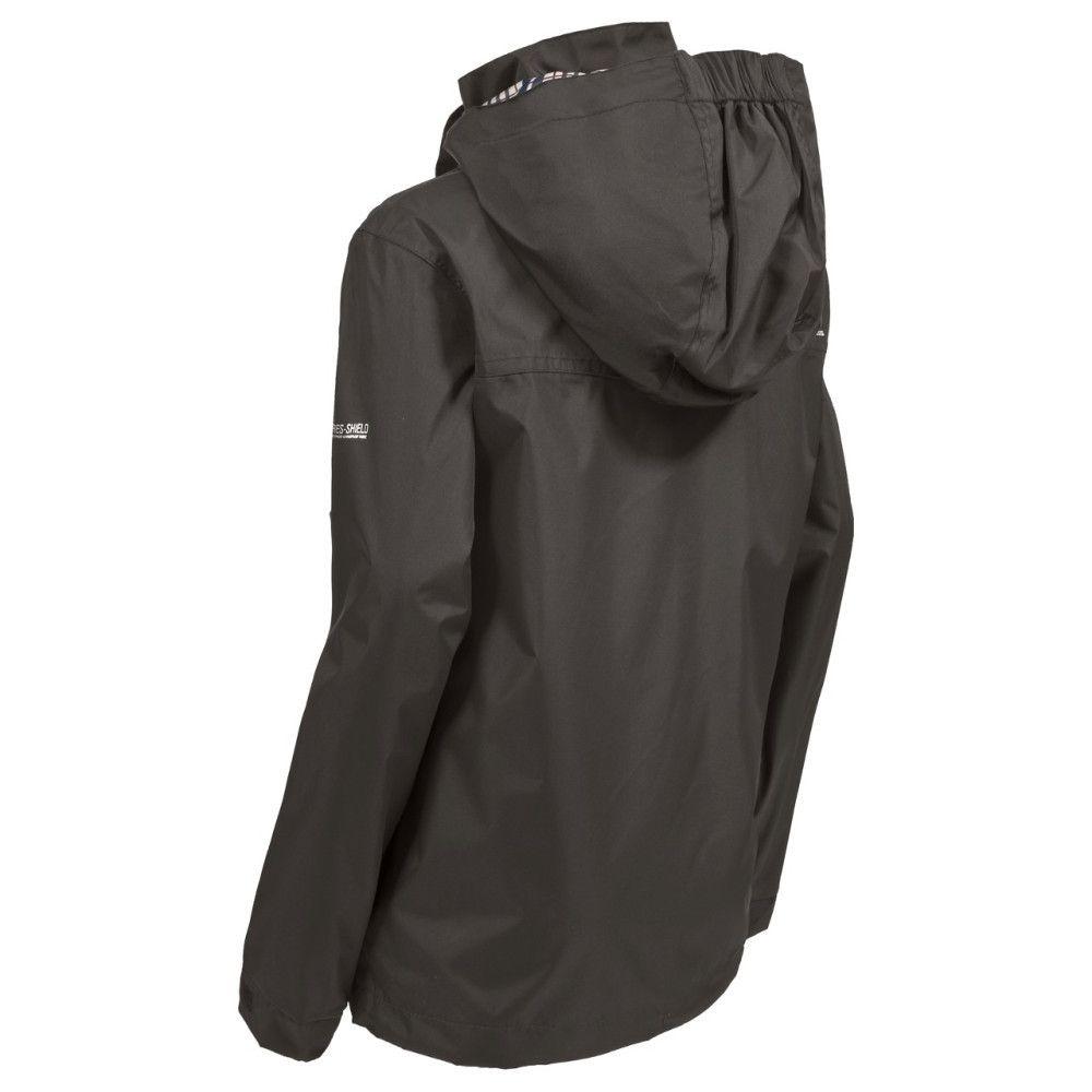 Trespass Boys Barrett Waterproof Breathable Polyester Lined Jacket
