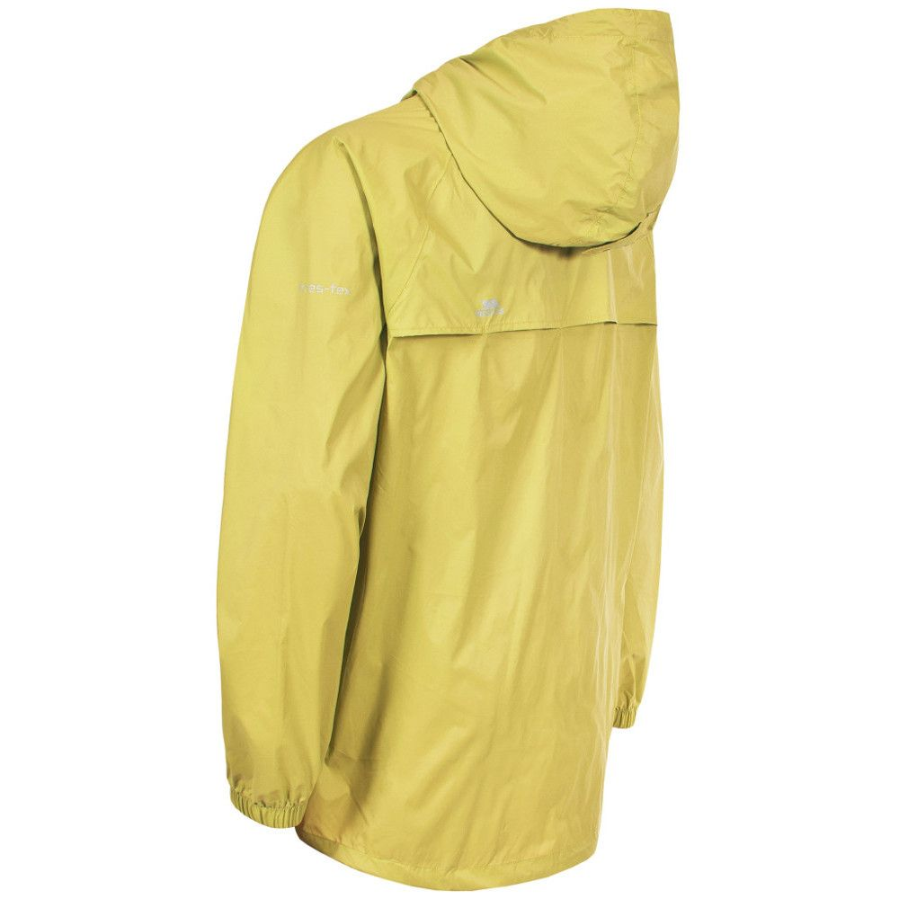 Trespass Boys Girls Qikpac Waterproof Breathable Packaway Jacket