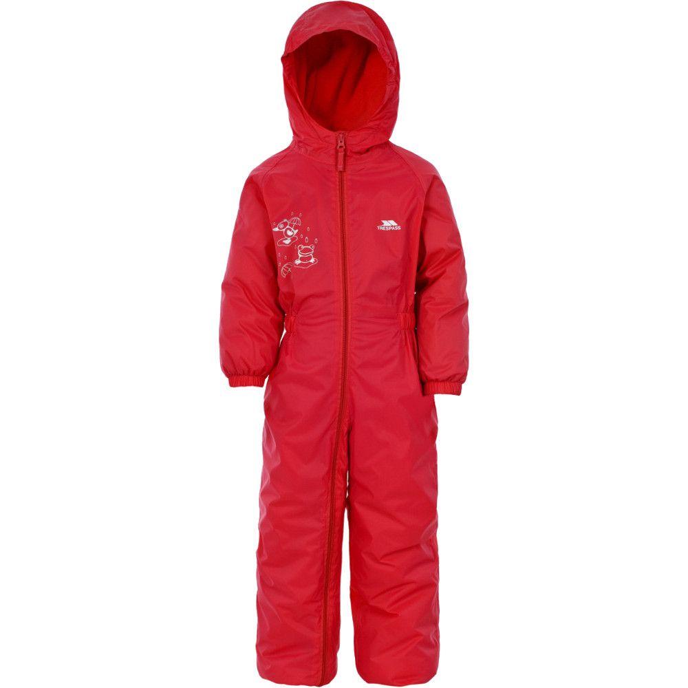 Trespass Boys Girls DripDrop Babies Waterproof Rain Suit