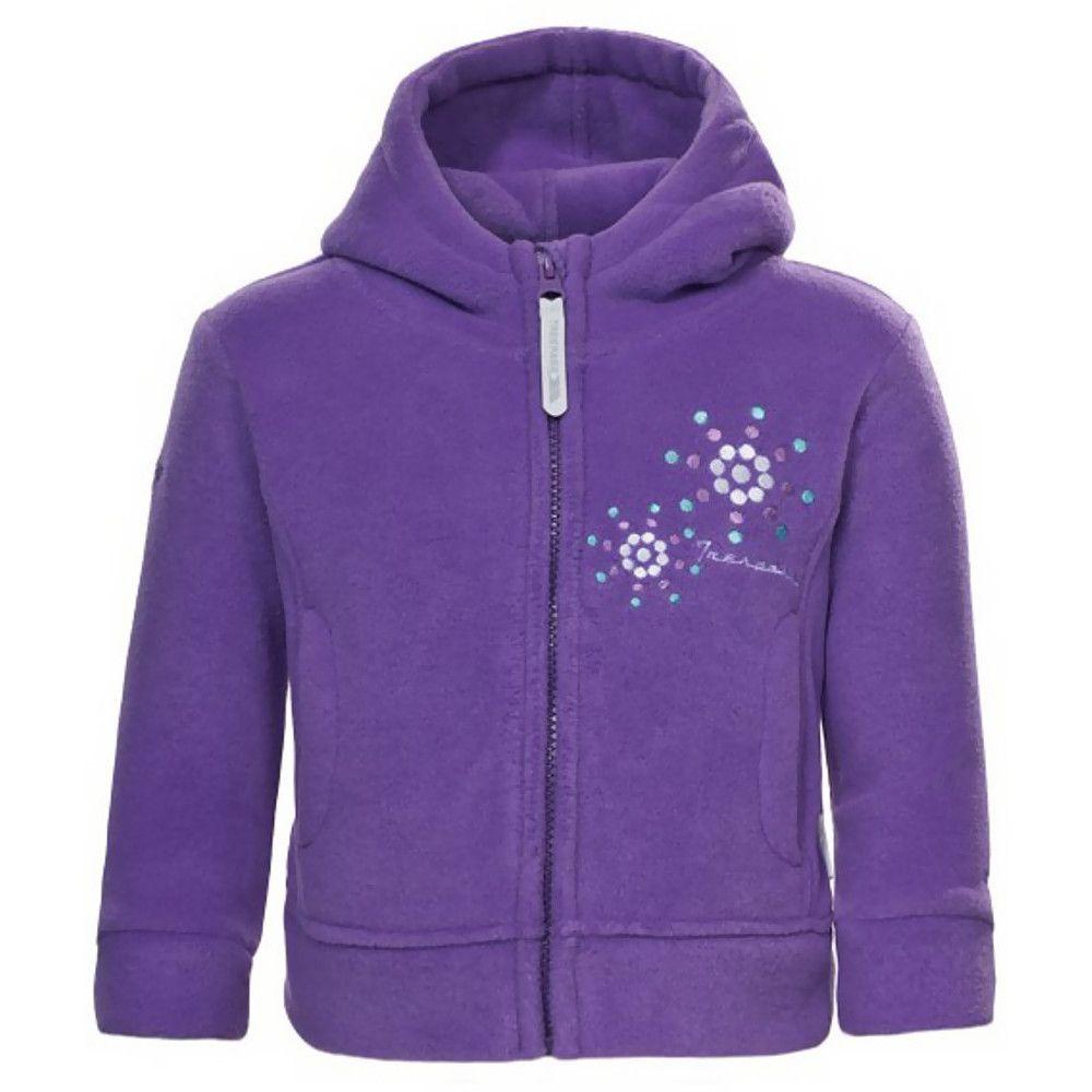 Trespass Girls Shakira Full Zip Embroided Soft Polar Fleece Jacket