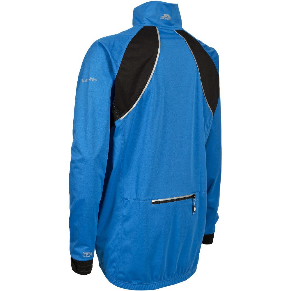 Trespass Mens Blocker Waterproof Windproof Lightweight Active Jacket