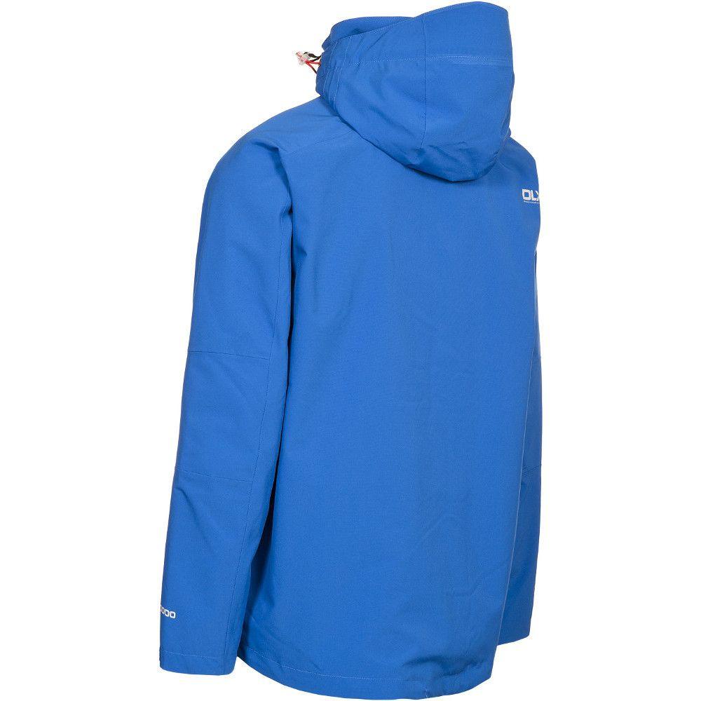 Trespass Mens Kumar DLX Waterproof Breathable Technical Rain Jacket