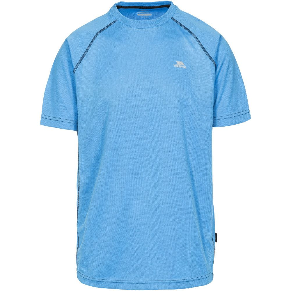Trespass Mens Ethen Active Wicking Running Short Sleeve T Shirt