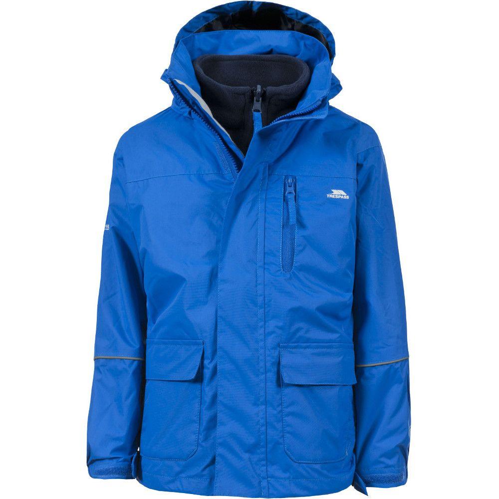 Trespass Boys & Girls Prime II Waterproof Breathable 3 in 1 Jacket