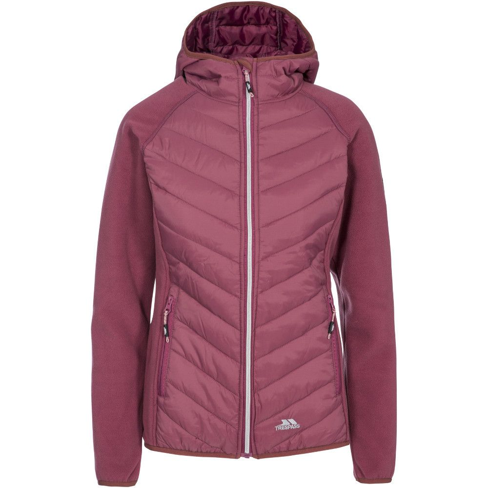 Trespass Womens/Ladies Boardwalk Polyester Hooded Fleece Jacket