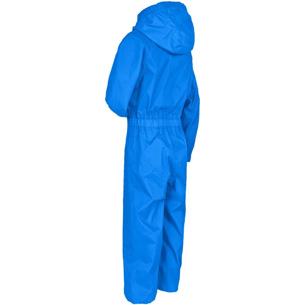 Trespass Boys Button II Waterproof Breathable Windproof Rain Suit