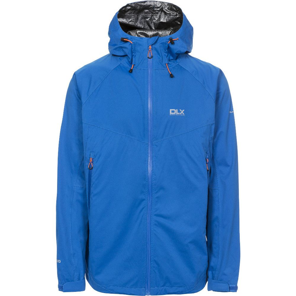 Trespass Mens Edmont II Waterproof Breathable Windproof DLX Jacket