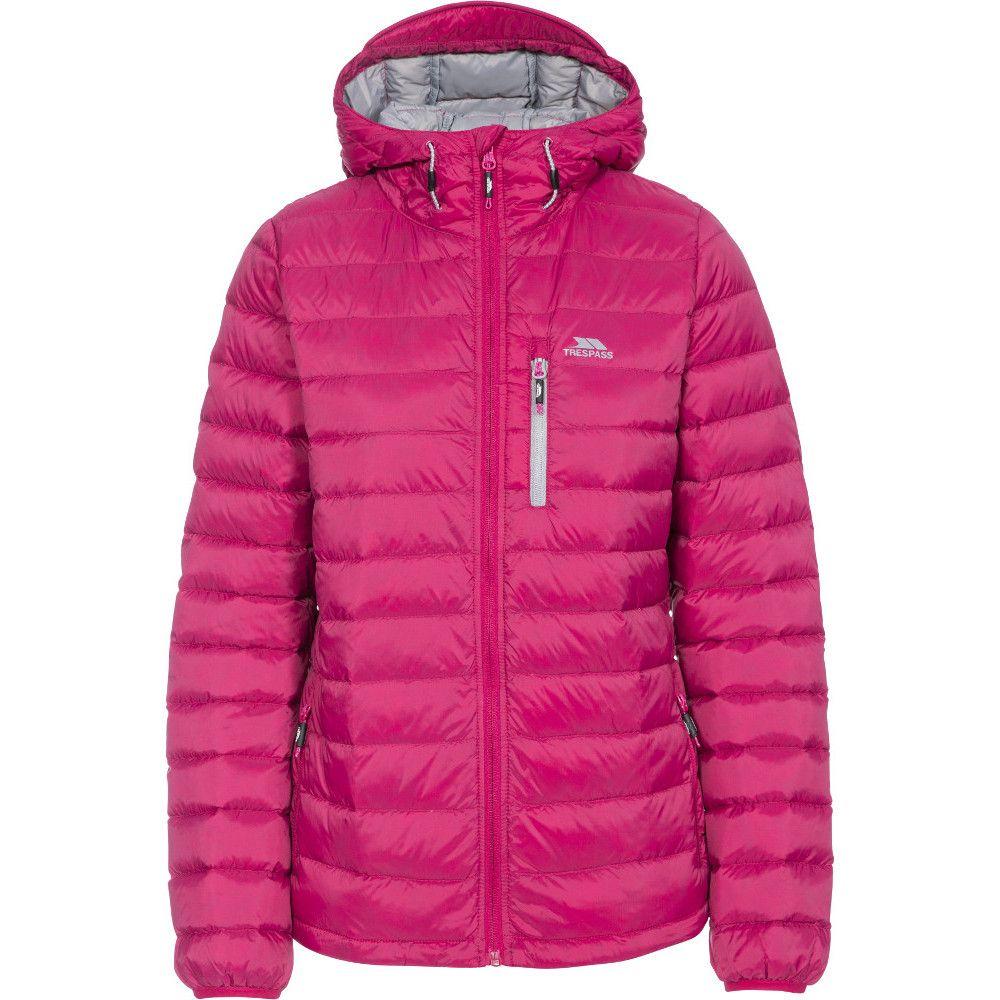 Trespass Womens/Ladies Arabel Ultra Lightweight Packable Down Jacket