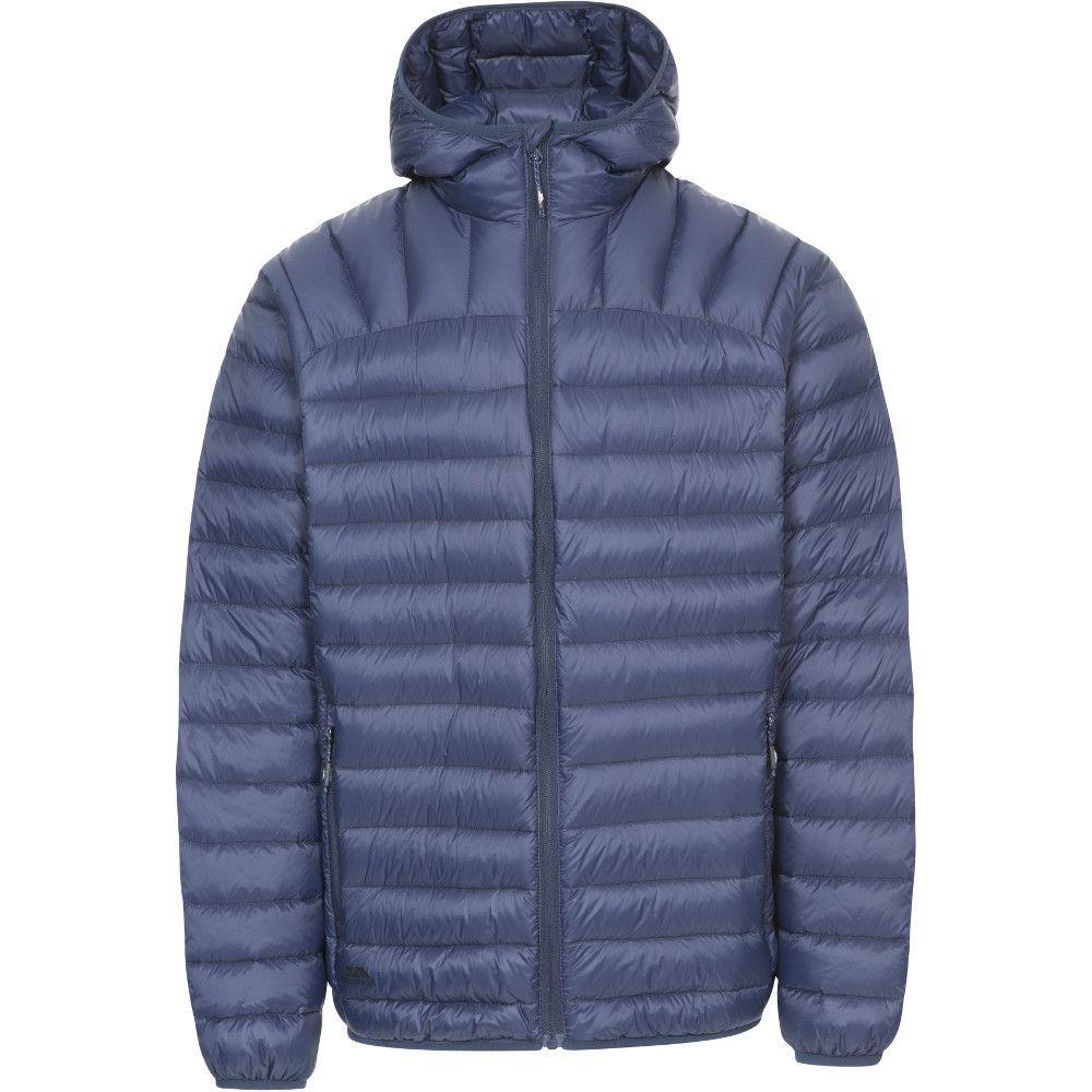 Trespass Mens Romano Ultra Lightweight Hooded Packable Down Jacket