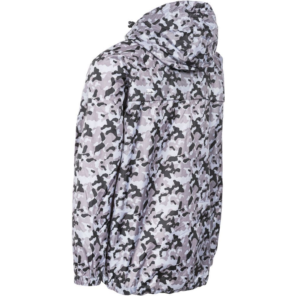 Trespass Mens & Womens/Ladies Waterproof Qikpac Print Packaway Jacket