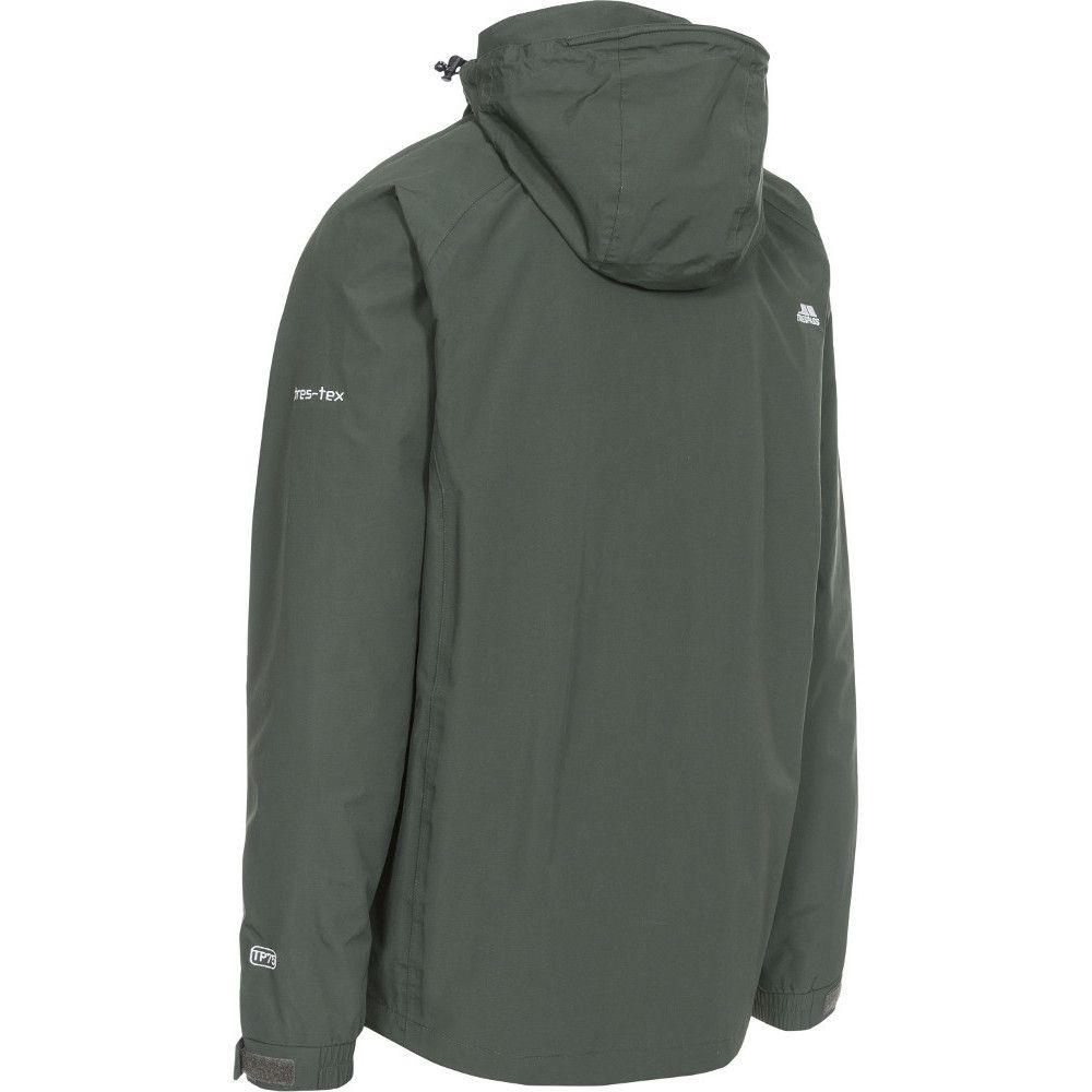 Trespass Mens Edwardsii Hooded Waterproof Breathable Jacket Coat