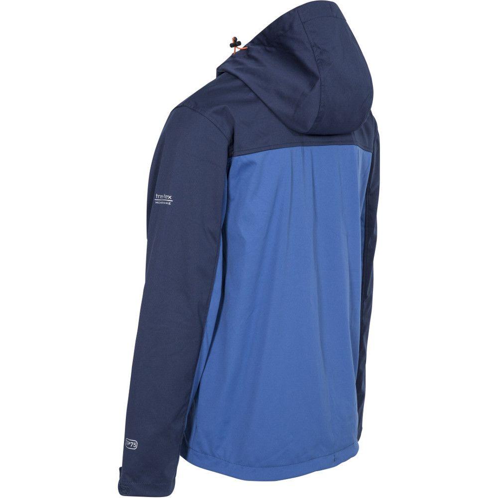 Trespass Mens Palin Zip Wicking Waterproof Windproof Softshell Jacket