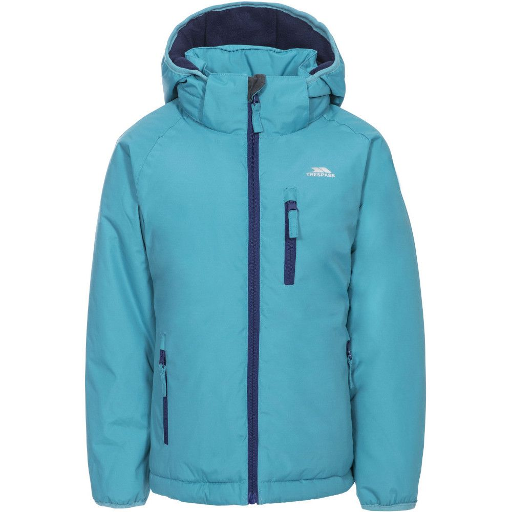 Trespass Girls Shasta Waterproof Windproof Insulated Warm Jacket Coat