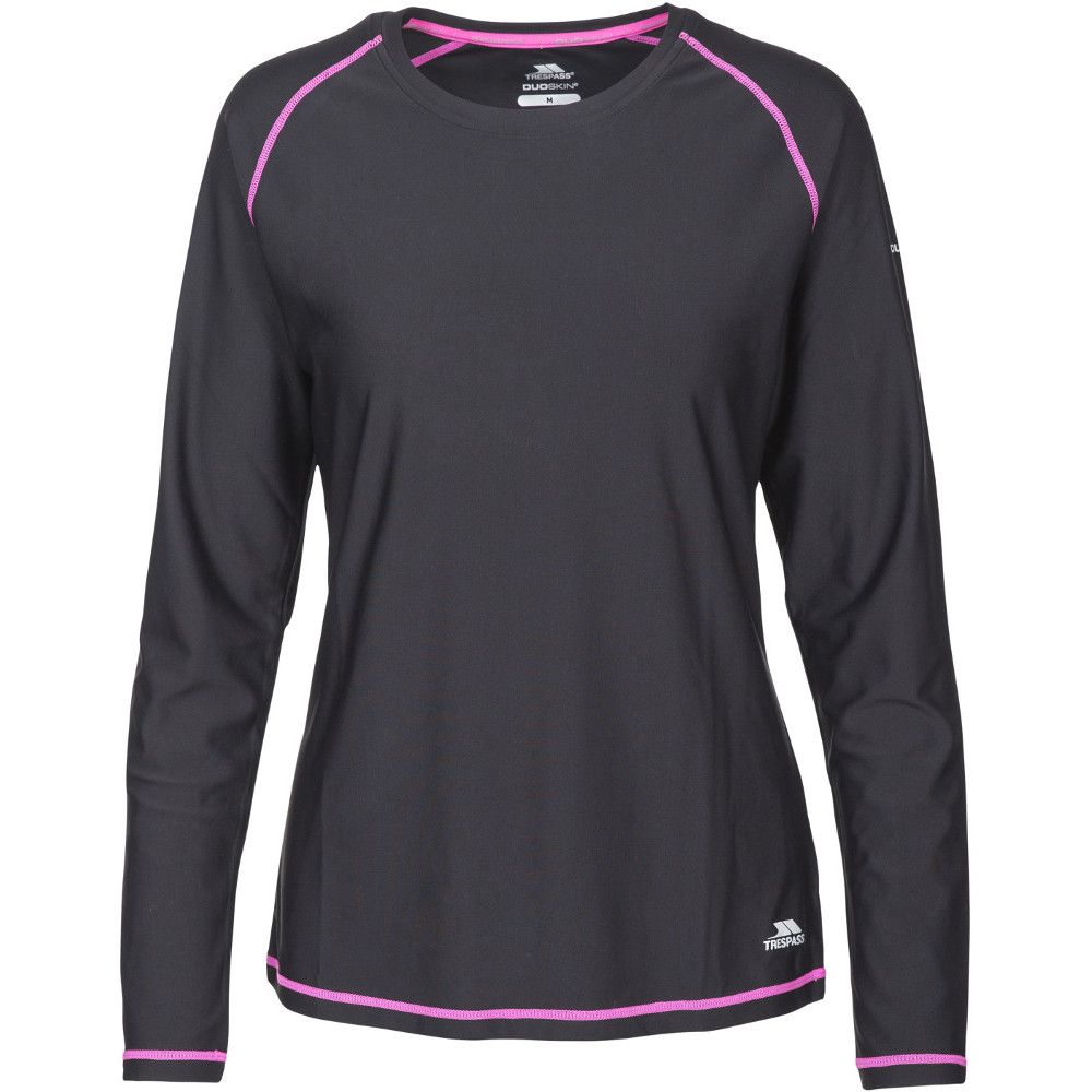Trespass Womens/Ladies Hasting Quick Dry Wicking Long Sleeve Top