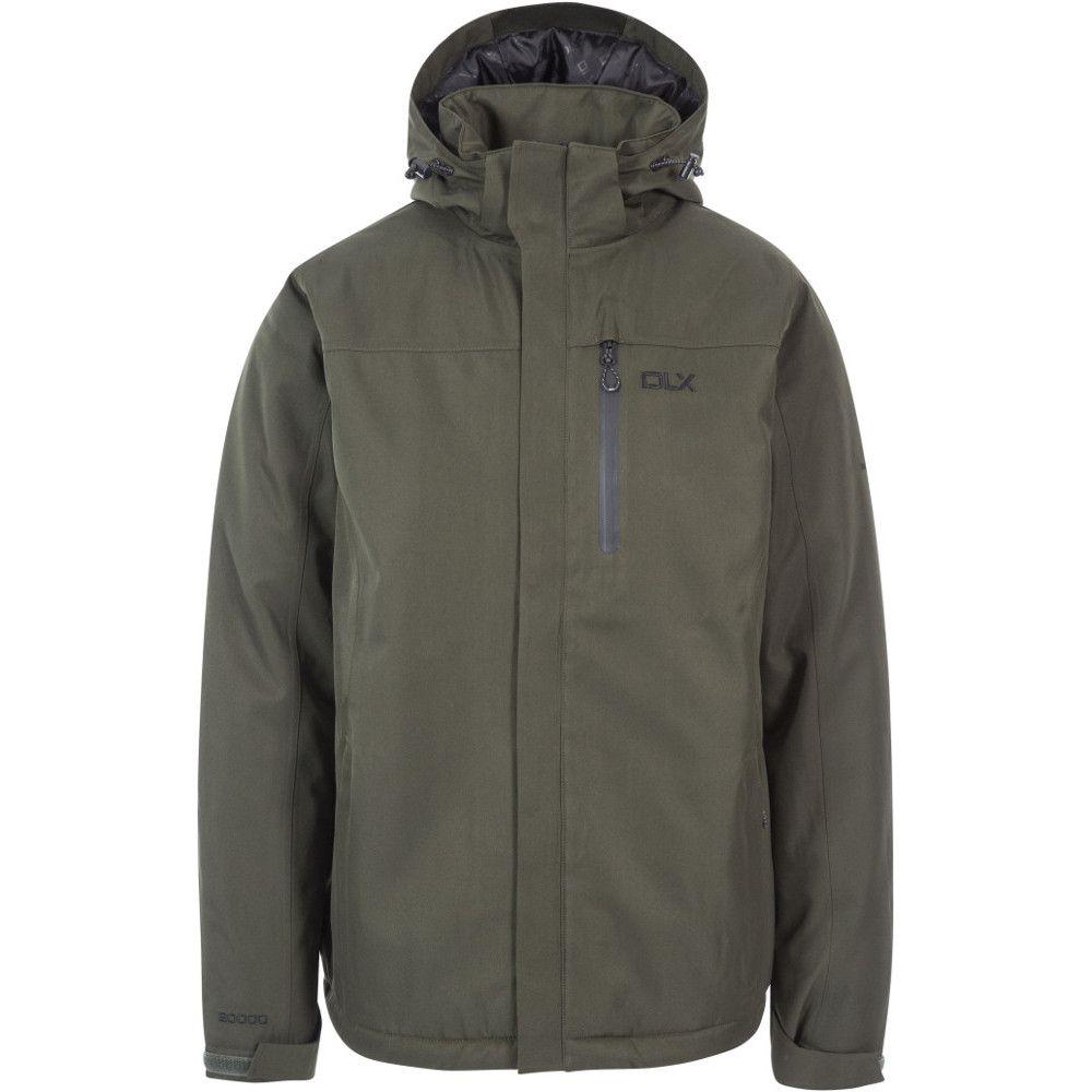 Trespass Mens Renner Waterproof Windproof Padded Walking Jacket Coat