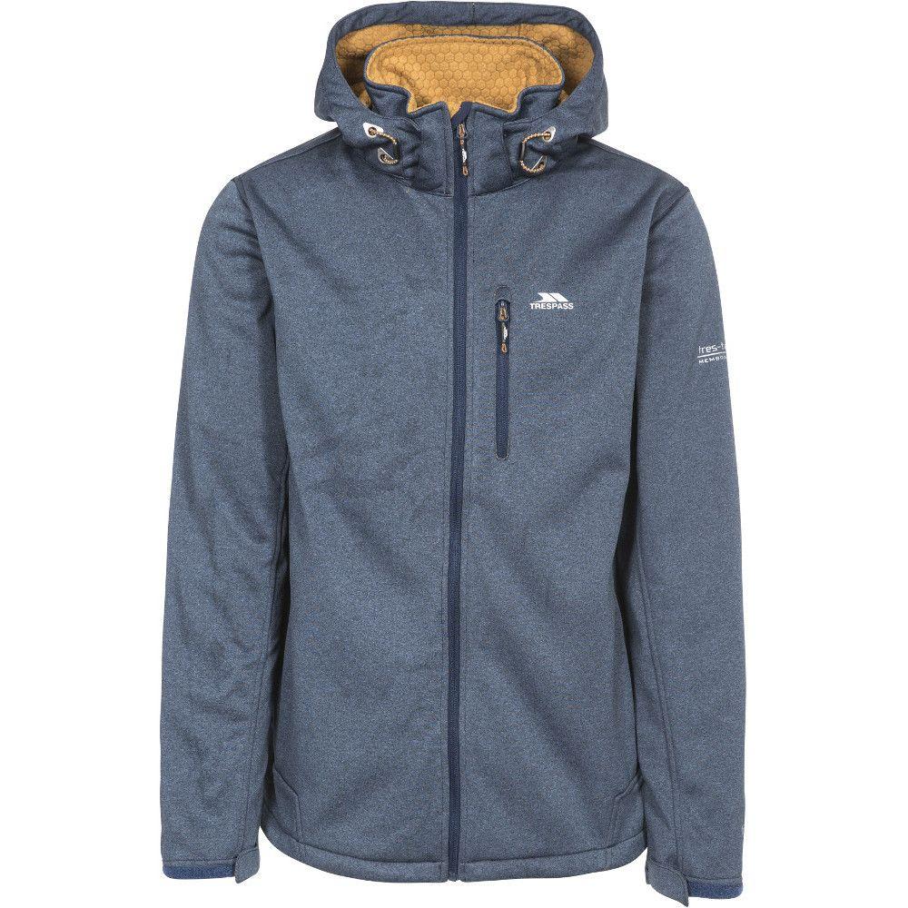 Trespass Mens Maynard Waterproof Windproof Breathable Softshell Jacket
