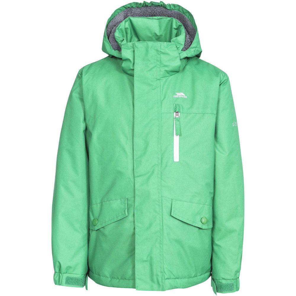 Trespass Boys Ballast Waterproof Windproof Hooded Walking Jacket Coat