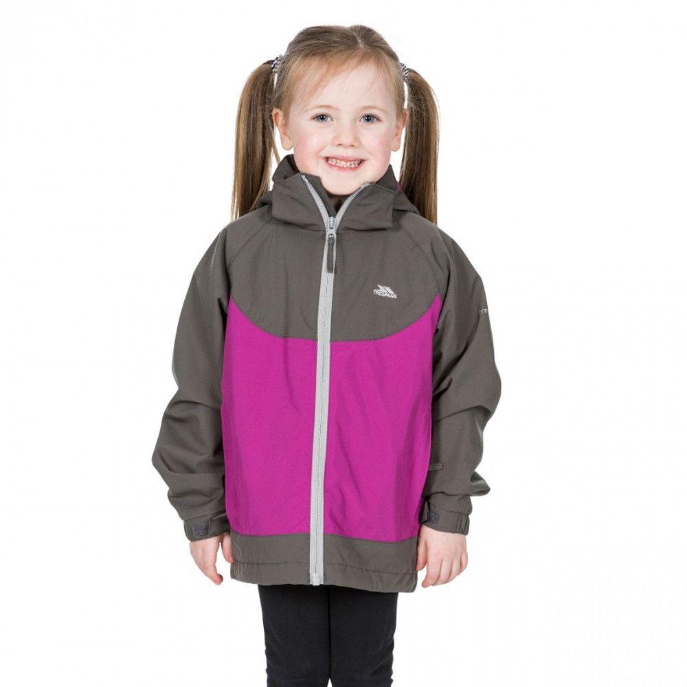 Trespass Girls Novah TP75 Waterproof Breathable Zip Up Coat