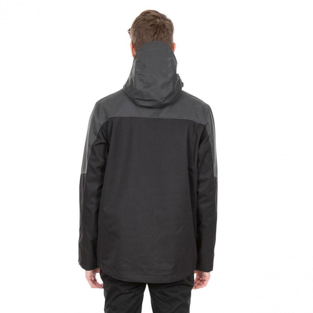 Trespass Mens Danson DLX Water Repellent Hooded Jacket