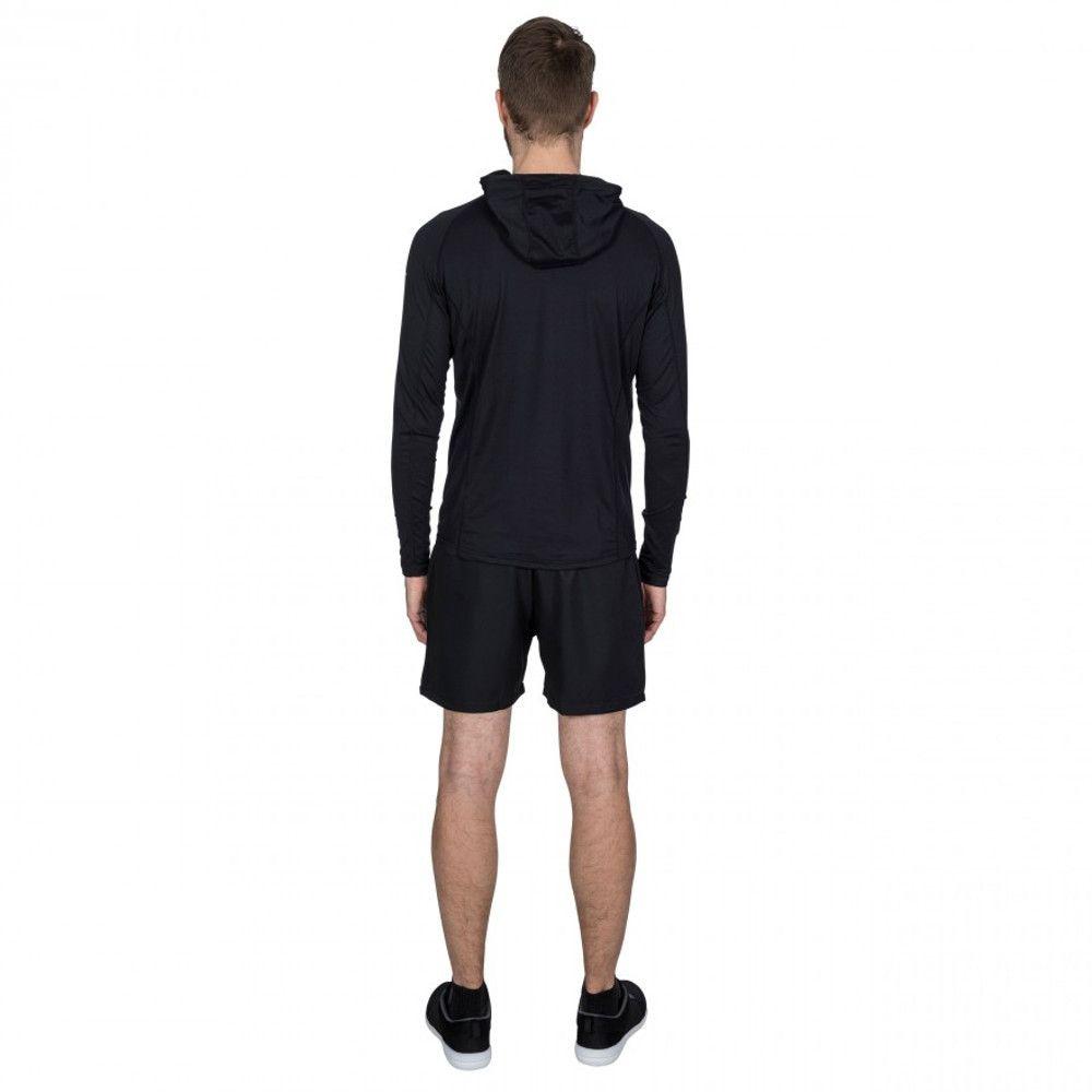 Trespass Mens Bryden Full Zip Quick Dry Active Hoodie Jacket