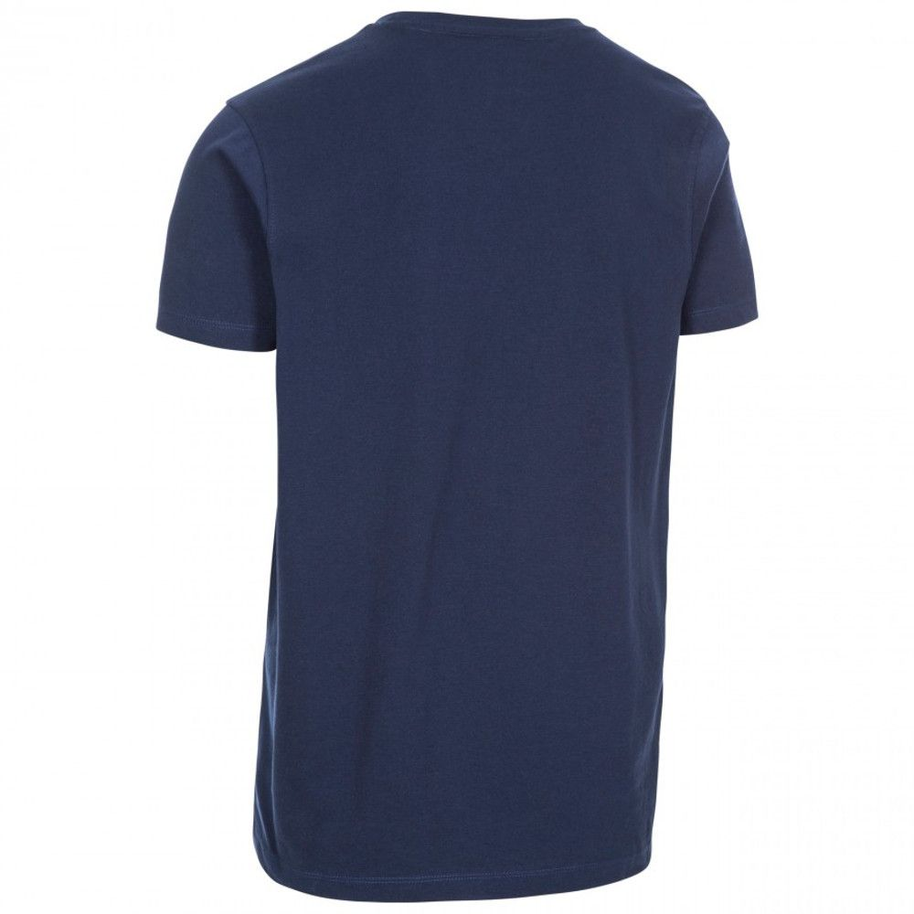 Trespass Mens Nev Quick Dry Short Sleeve Graphic T Shirt