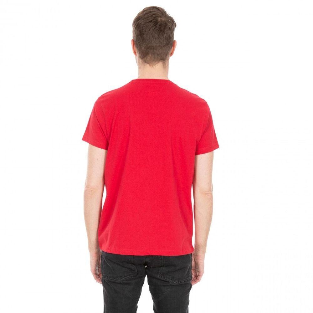 Trespass Mens Snowdon Quick Dry Short Sleeve Graphic T Shirt