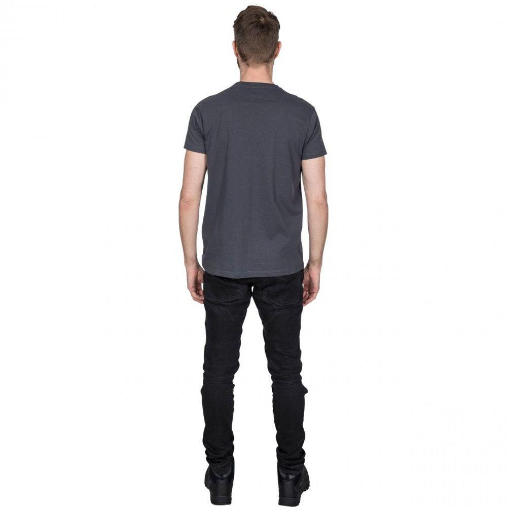 Trespass Mens Tuathail Wicking Short Sleeve Graphic T Shirt