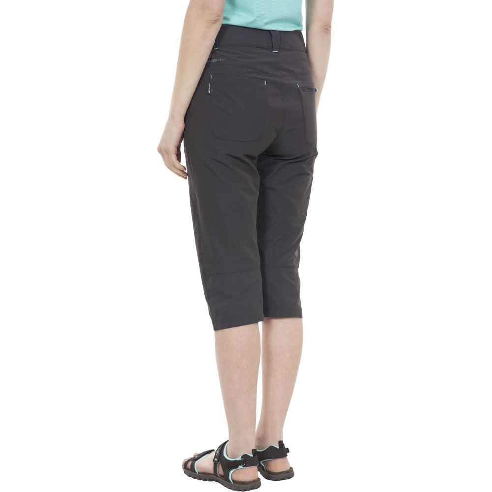Trespass Womens Recognise Stretch 3/4 Capri Walking Trousers