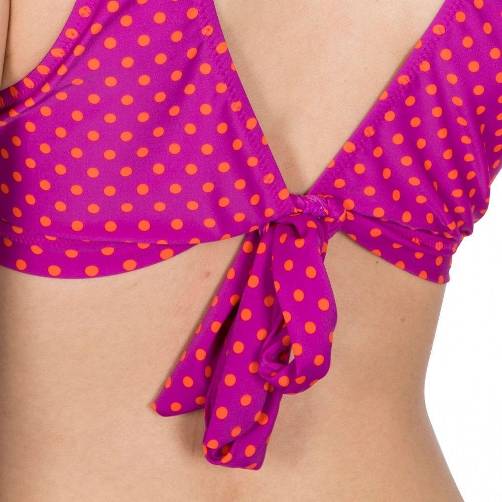 Trespass Womens Natalia Tie Back Printed Summer Bikini Top