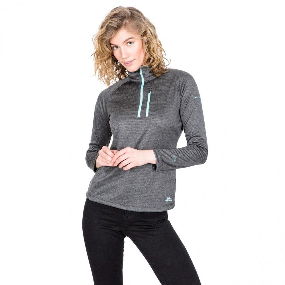 Trespass Womens Lopez AT200 Half Zip Fleece Jacket