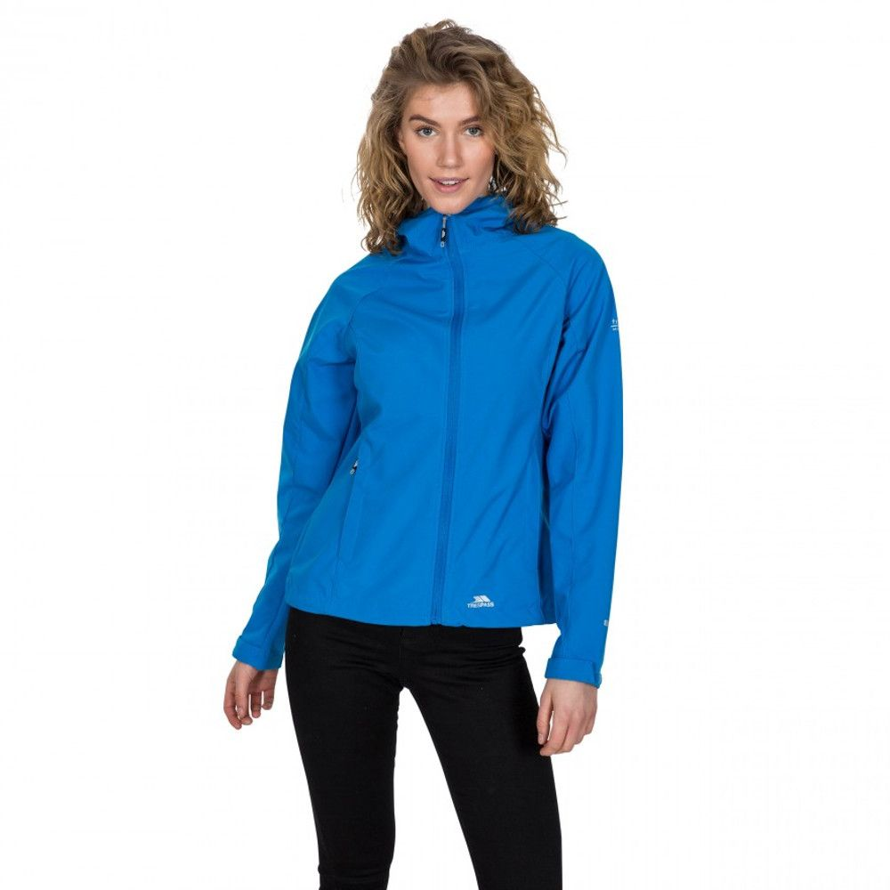 Trespass Womens Aviana TP75 Softshell Waterproof Hooded Coat