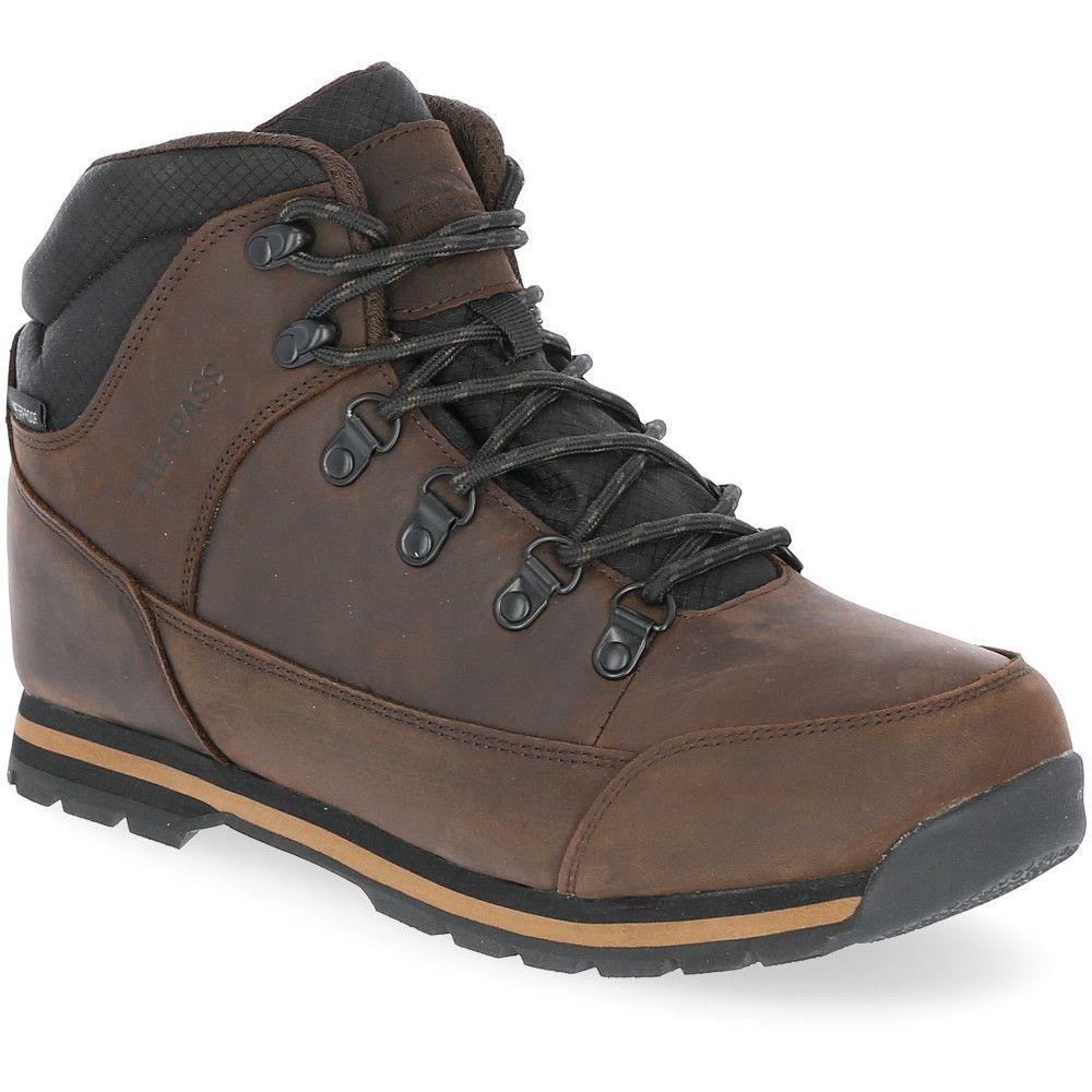 Trespass Mens Jericho Waterproof Leather Walking Boots