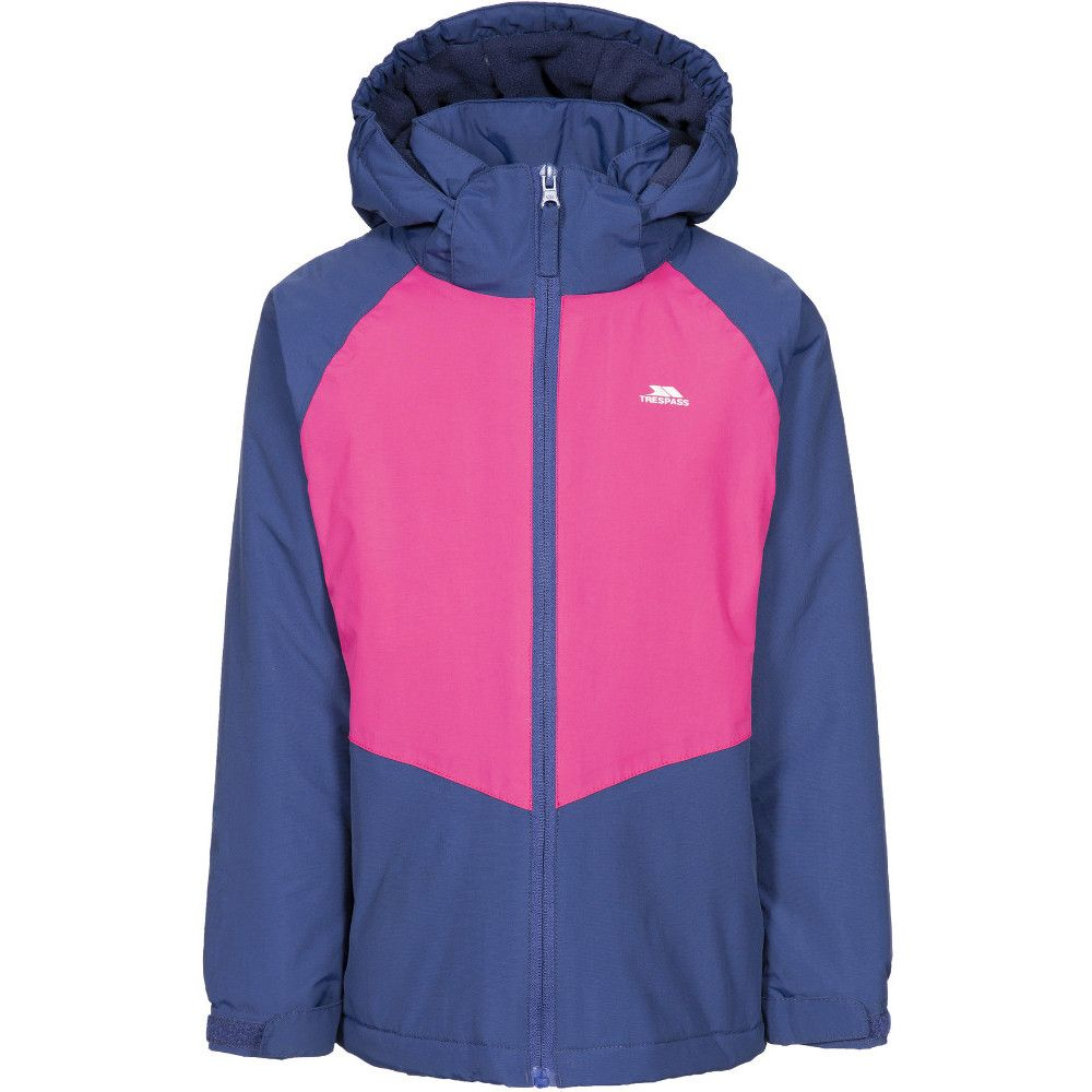 Trespass Girls Georgian Padded Waterproof Reflective Coat