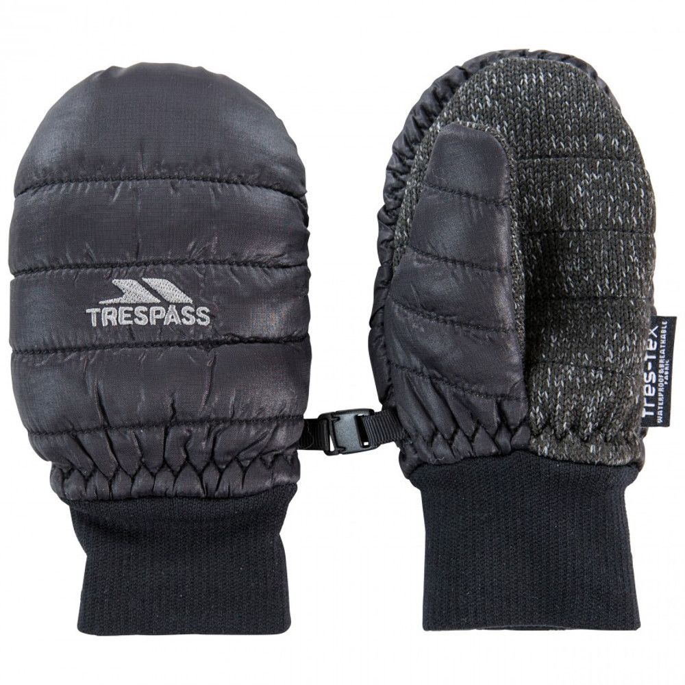 Trespass Boys Pikidino Lightly Padded Winter Warm Mitts